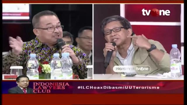 Debat Sengit Rocky Gerung Vs Guru Besar UI Renald Khasali soal Hoax