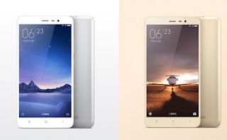 Xiaomi Redmi Note  3 Dan Redmi Note 3 Pro