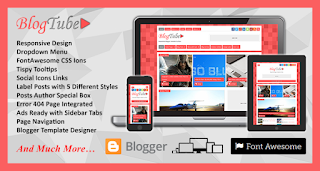 Blog Tube Blogger Template