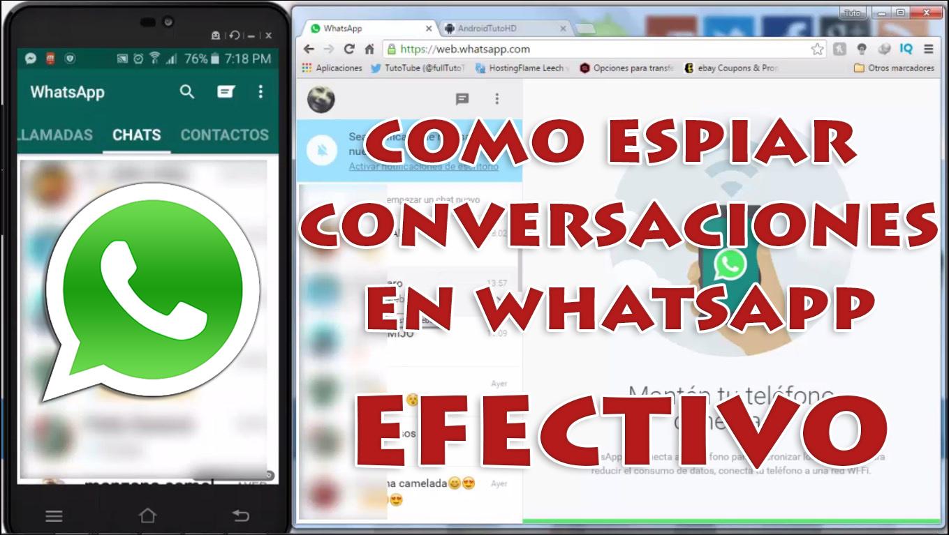 espiar conversaciones en android