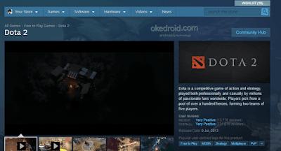 Steam Store Dota 2