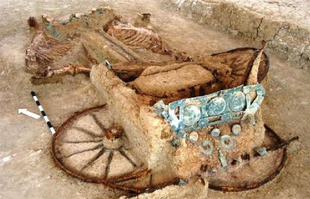 Ancient chariots found in Thrace to be housed in new museum