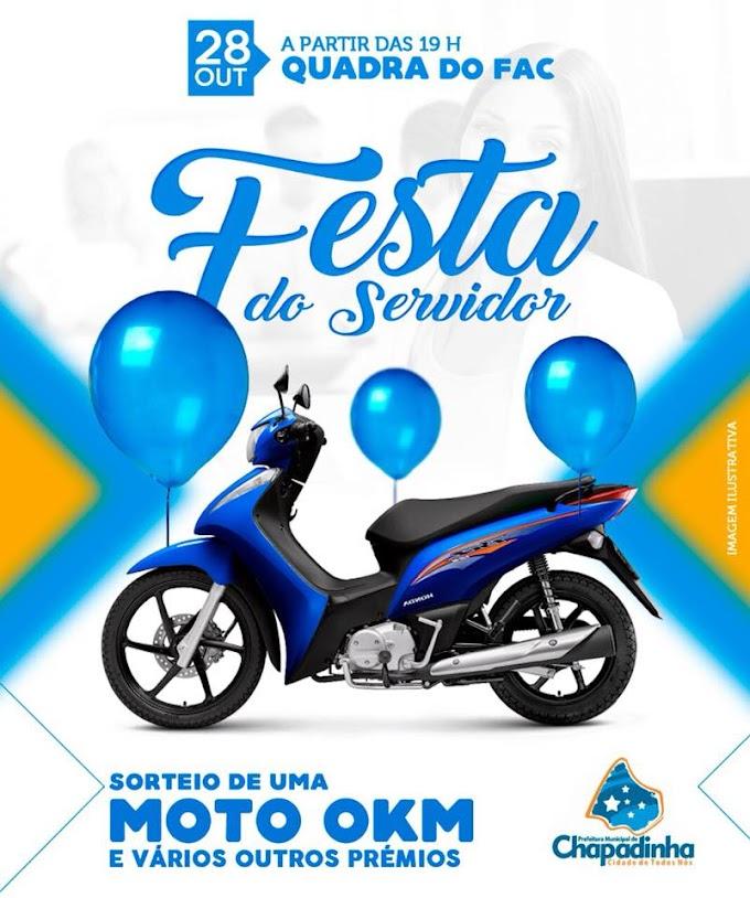 Prefeitura de Chapadinha realizará no próximo sábado (28) festa do servidor Público