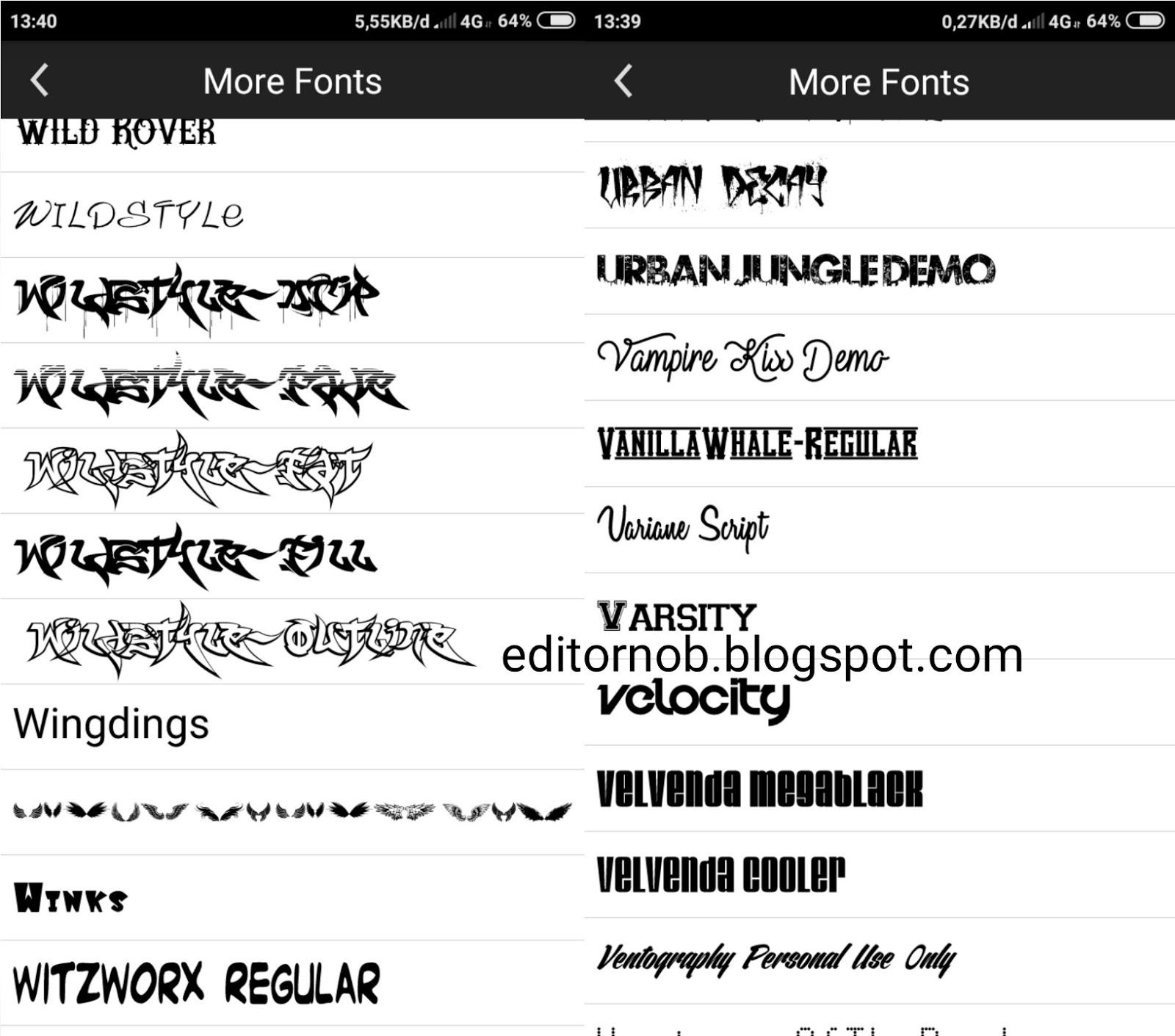 Download Download 2000+ Font Pack Keren Terbaru Picsay Pro ...