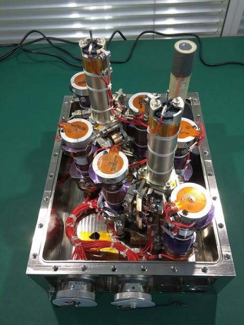 experimento de petróleo no espaço