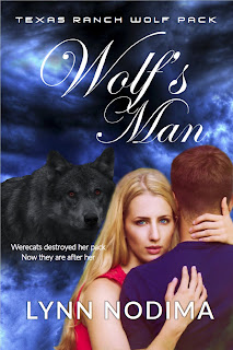New Cover for Wolf's Man