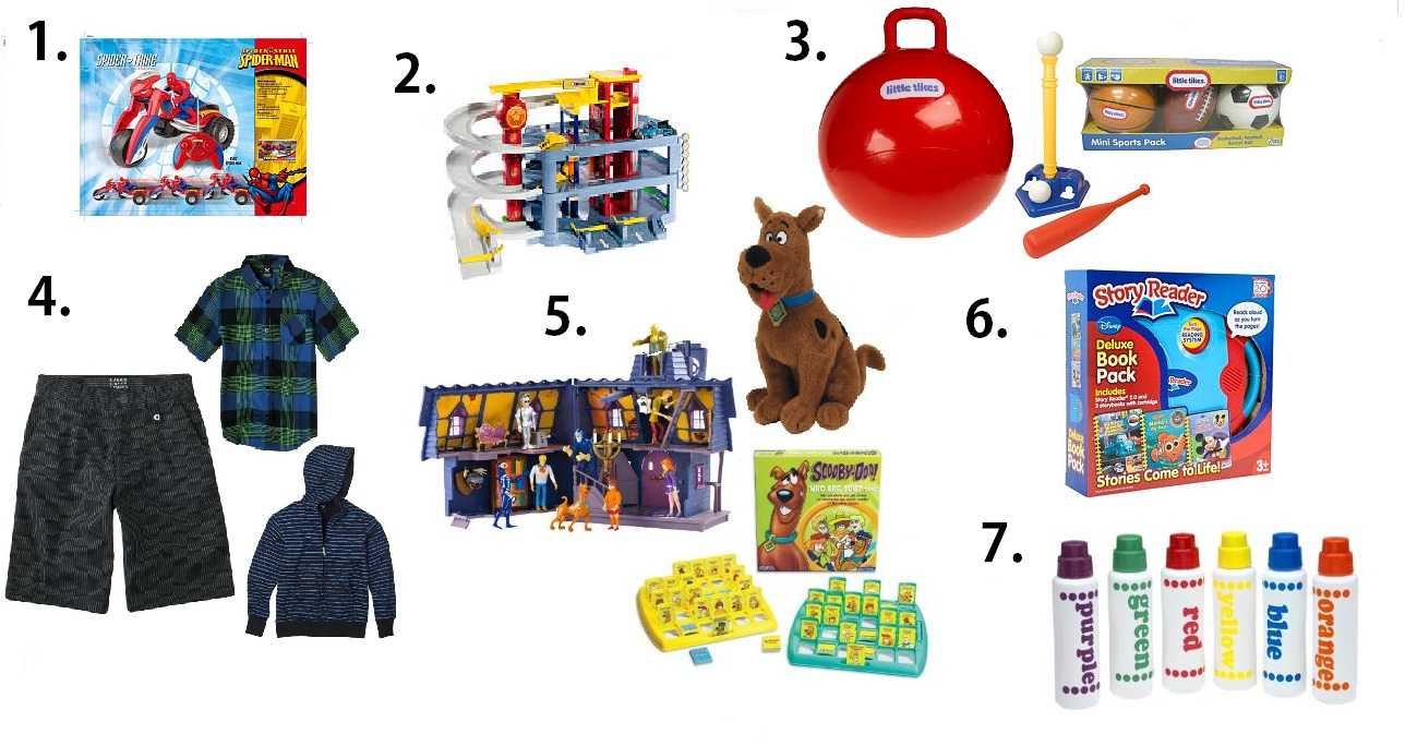 4 Year Old Boy Birthday Gift Suggestions