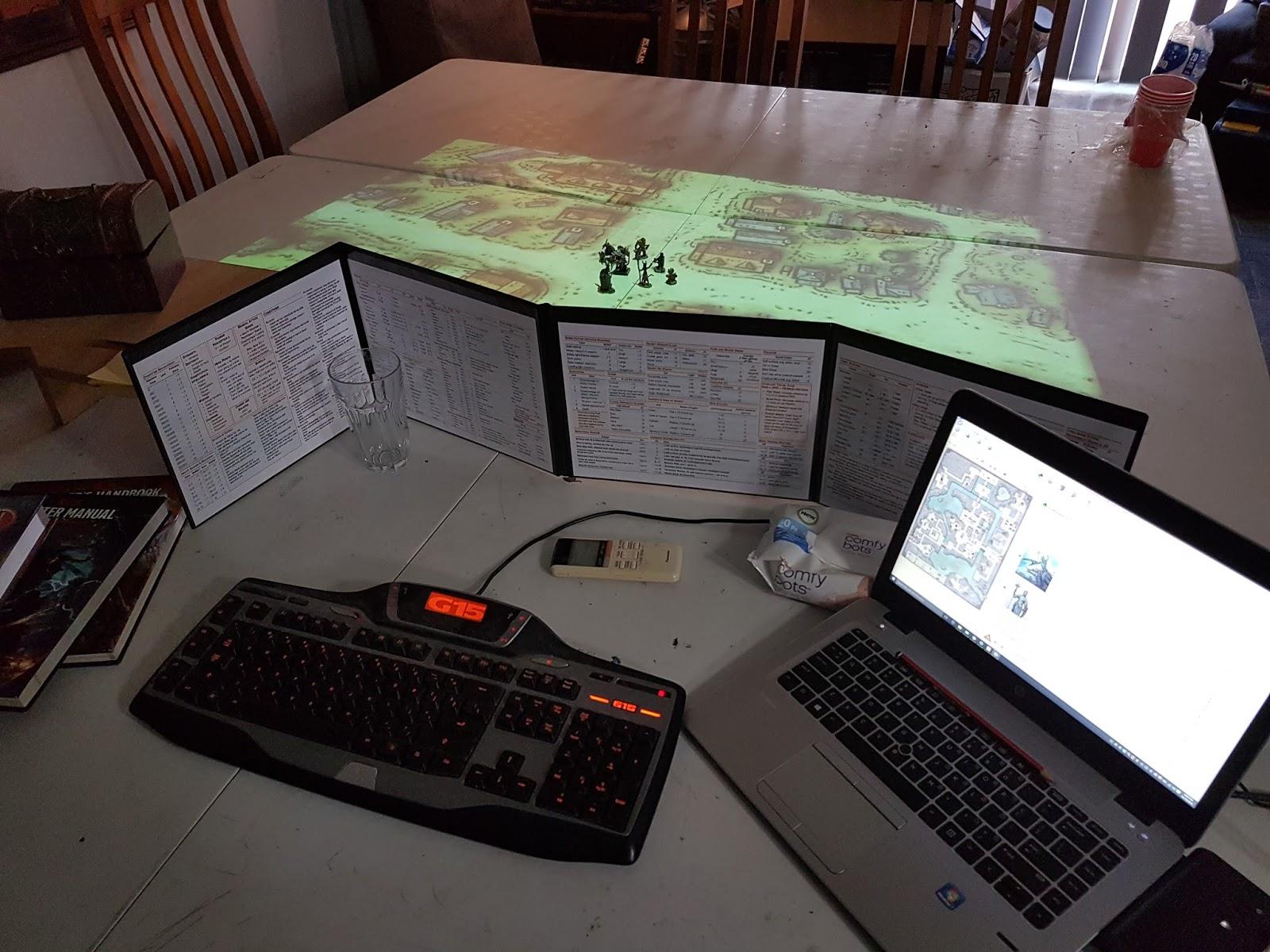 Virtual Table Server