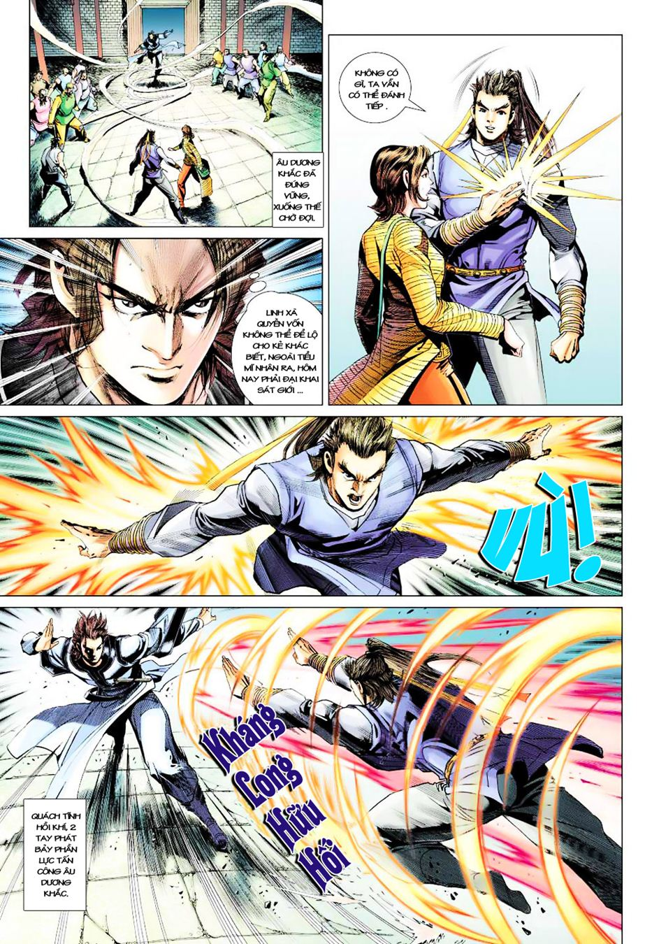 Anh Hùng Xạ Điêu anh hùng xạ đêu chap 35 trang 29