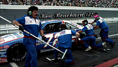 Ken Bouchard #72 Auto Palace Racing Champions 1/64 NASCAR diecast blog BGN