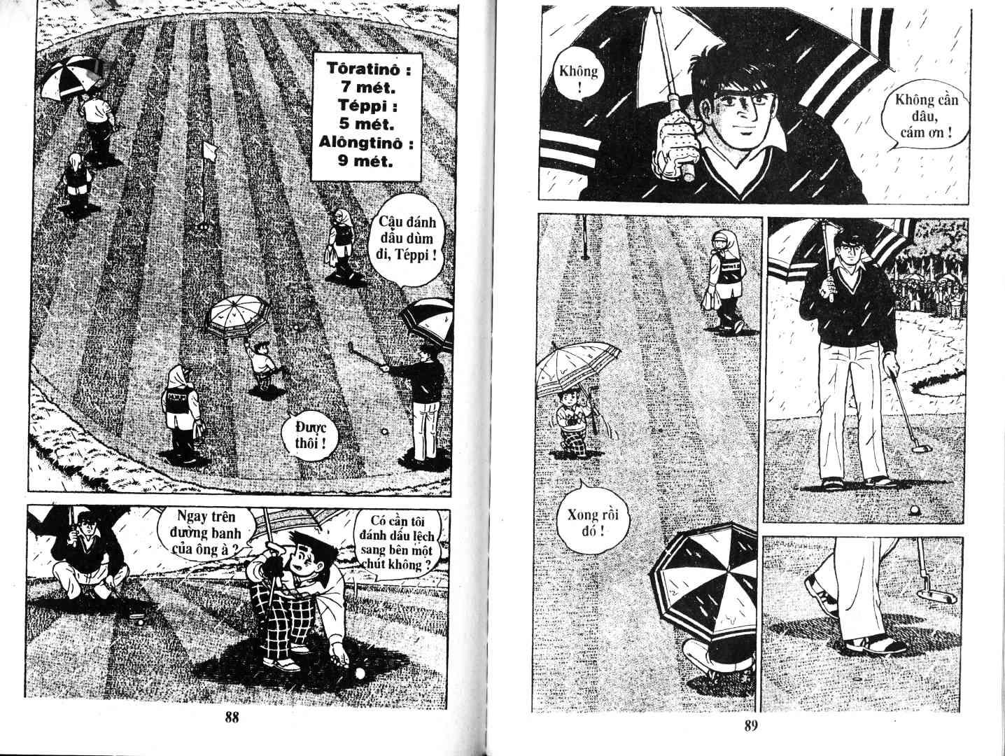 Ashita Tenki ni Naare chapter 47 trang 44