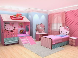 Cuarto temático Hello Kitty