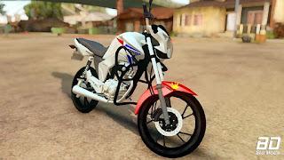 Download mod moto Honda CG 150 ABS para GTA San Andreas