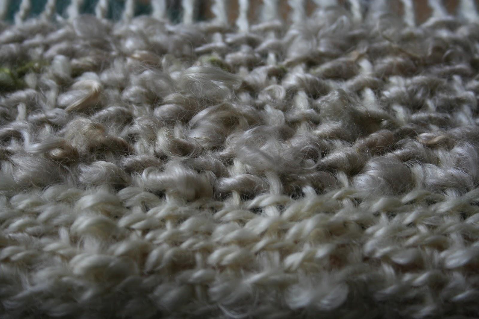 A Yarn Maker S Journey Weaving Mohair Halfway Through Rug