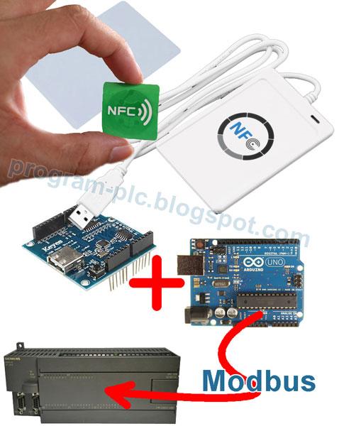 ACR122U NFC, Arduino, and Siemens PLC
