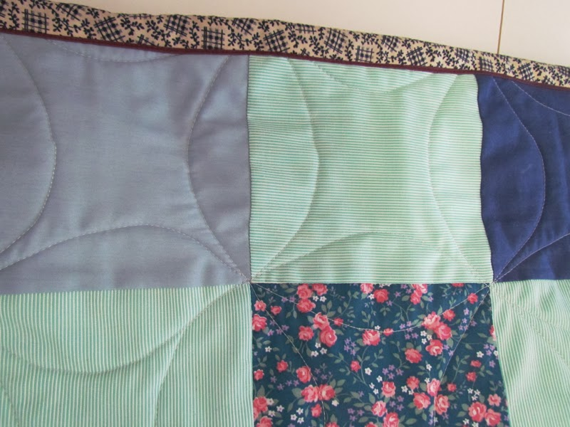 "kid's quilt:  miscellaneous 6"" squares"