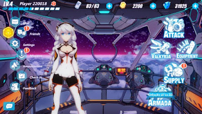 Anime Honkai Impact 3 Unlimited Money APK MOD Full Unlocked Terbaru 2017