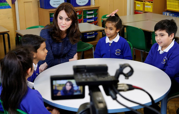 The Duchess Of Cambridge In A Video Message For Children's Mental Health Week 2016