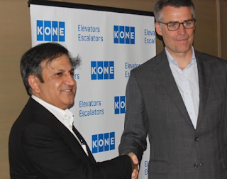KONE Corporation CEO sees potential for the India market