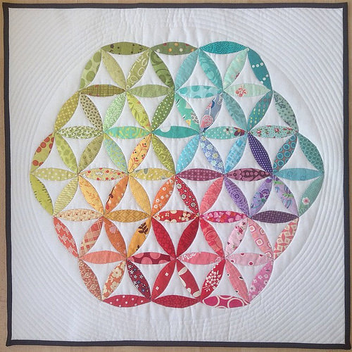 The Flower of Life Quilt Free Pattern