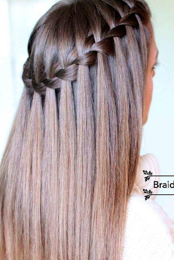 Un look impactante con como hacer peinados Fotos de cortes de pelo tendencias - Aprende cómo hacer el peinado cascada con 5 Looks que te ...