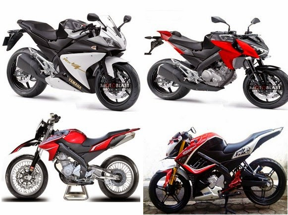 Gambar Modifikasi Motor Yamaha New Vixion (NVL)