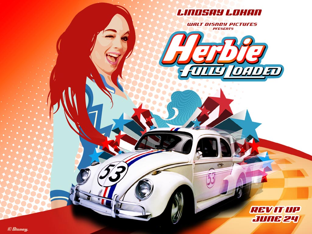 wallpaperew herbie fully loaded background wallpapers. Black Bedroom Furniture Sets. Home Design Ideas