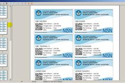 Download Aplikasi Cetak Kartu NISN Versi Terbaru 2018 Gratiss!!
