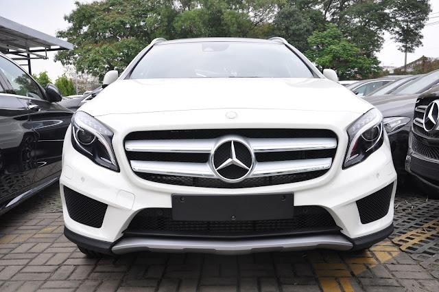 Mercedes GLA 250 4MATIC thiết kế bo tròn các góc