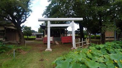 小山田神社 鳥居