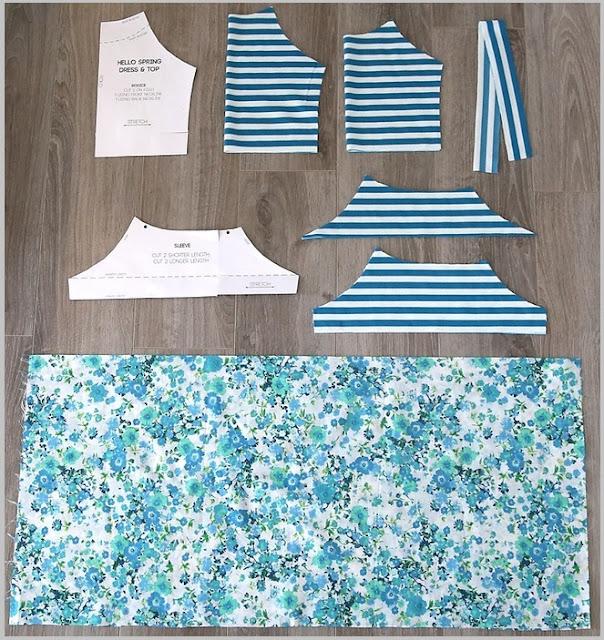 [Full] Cách may váy đầm cho bé gái đơn giản - Ảnh 2