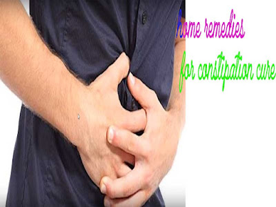 Home remedy for constipation,