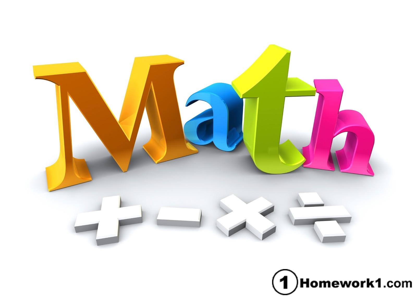 How to Use Online Math Homework Service from Homework1 ~ Homework ...