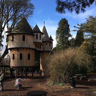 Wooden Tree House in Birr Castle, County Offaly