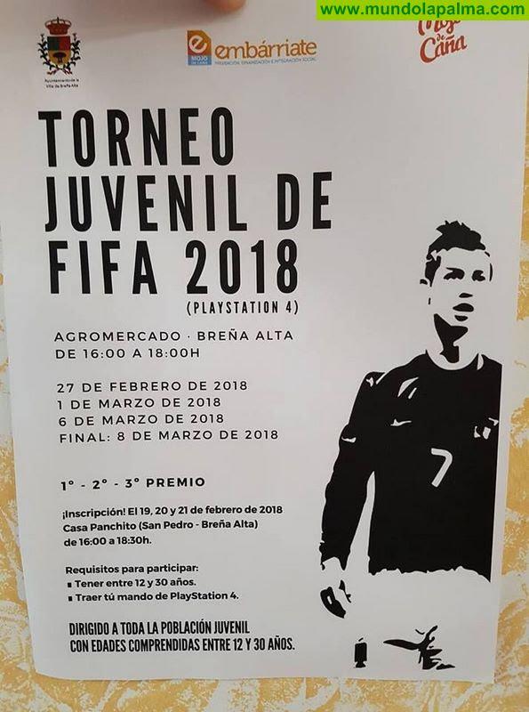 Torneo Juvenil de FIFA 2014 para PS4 en Breña Alta