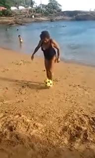 """La """"abuela de Ronaldinho"""""""