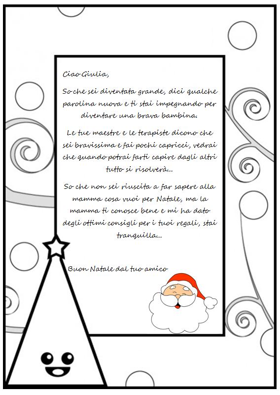 Lettere Di Babbo Natale Da Stampare E Colorare