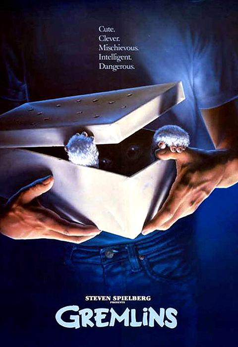 Poster original Gremlins 1984
