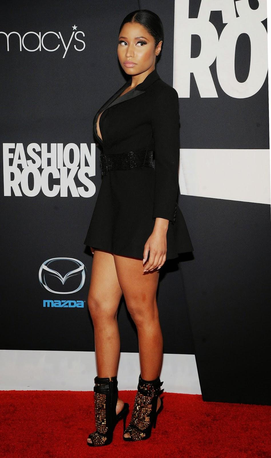 Nicki Minaj Latest Fashion Rock 2014 Popular Actress