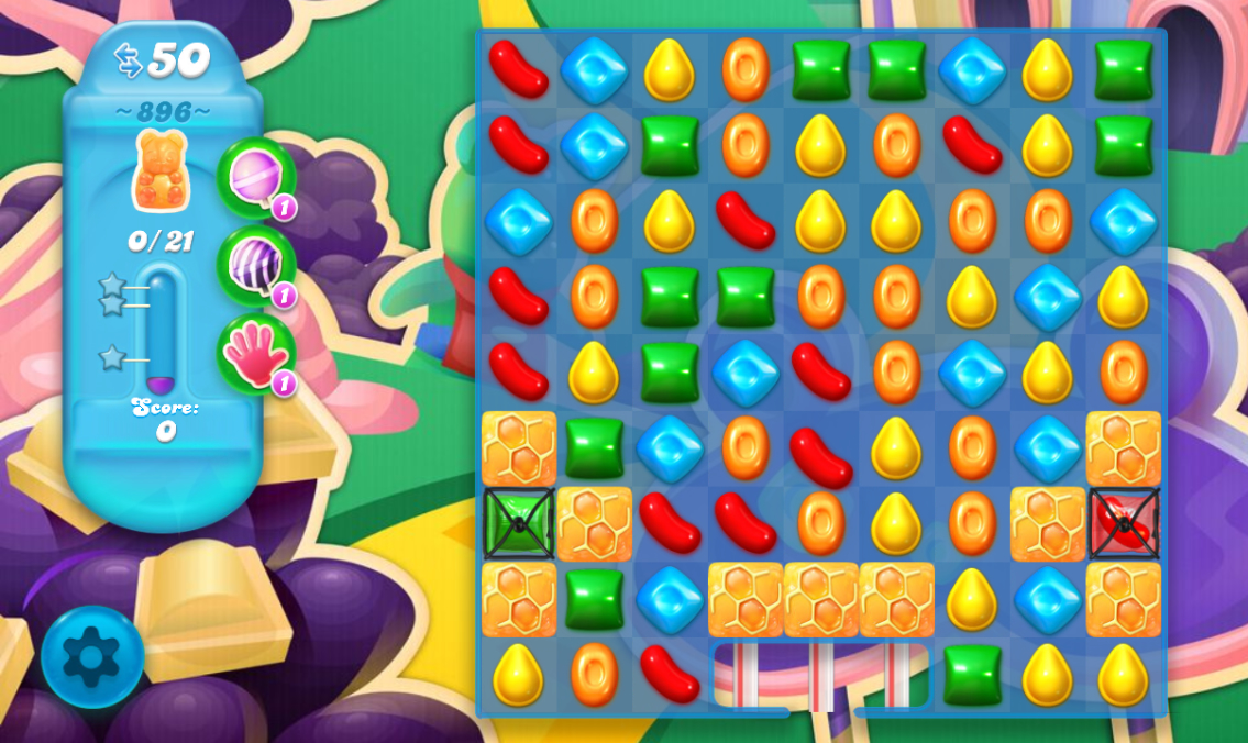Candy Crush Soda Saga 896