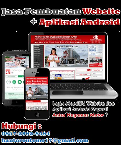 Jasa Pembuatan Website dan Aplikais Android i Klaten Solo Boyolali Surakrta Sukoharjo Wonogiri Sragen Murah