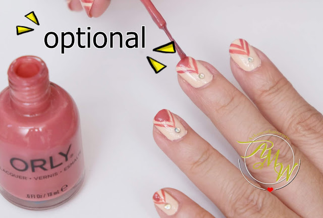 a photo of Nail Art Tutorial, Medal Nails with Rhinestones using Orly and Girlstuff