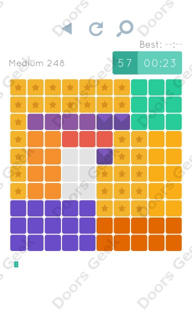 Cheats, Walkthrough for Blocks and Shapes Medium Level 248