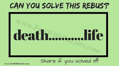 Kids Rebus Puzzle