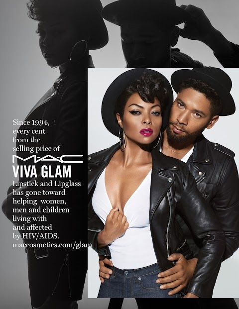 M∙A∙C VIVA GLAM Available in stores and online in February #MACTarajiphenson