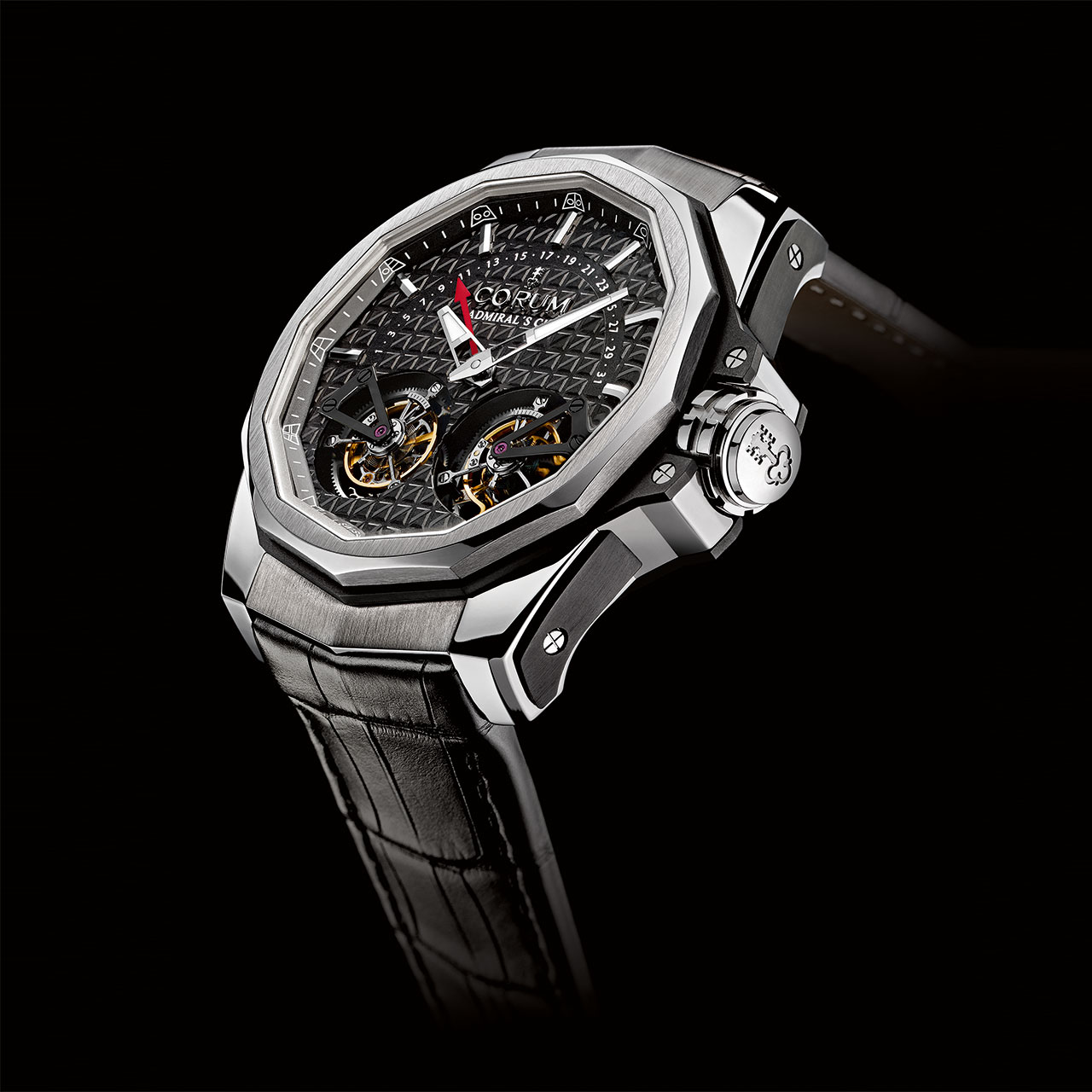 Corum Admiral's Cup AC-One 45 Double Tourbillon Watch