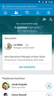 LinkedIn app  v4.0.48
