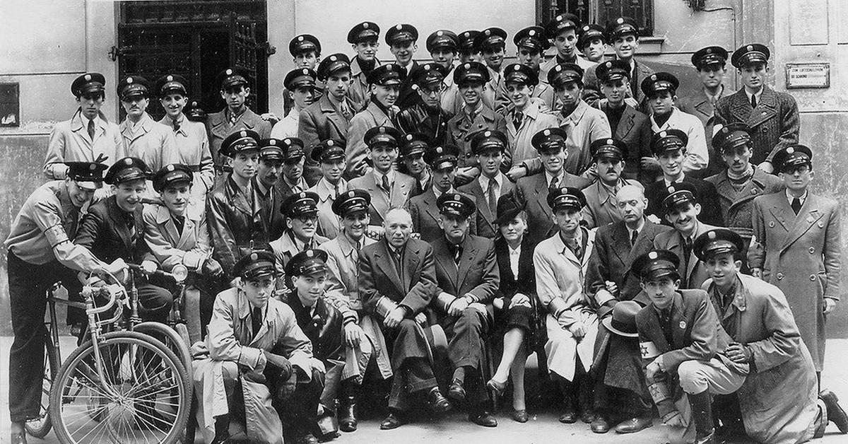 Varšuvos geto žydai policininkai