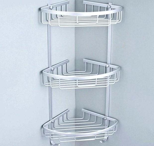 Rak kamar mandi stainless - Model tempat sabun dan sampo kamar mandi minimalis