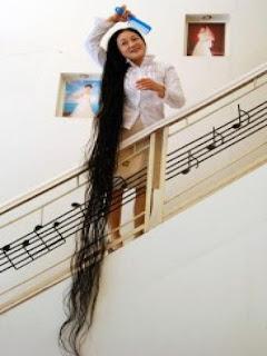 manusia rambut terpanjang di dunia
